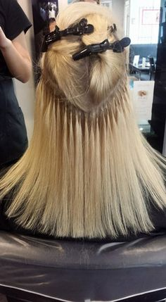Great lengths 30cm hair extensions pinterest hair extensions half of the extensions fitted great lengths hair extensions by chris pmusecretfo Choice Image
