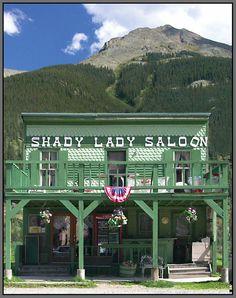 The Shady Lady Saloon, Silverton, Colorado Silverton Colorado, Road Trip To Colorado, Durango Colorado, Colorado Trip, Colorado Homes, San Juan Mountains, Colorado Mountains, Rocky Mountains, Ridgway Colorado