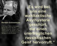 #wahltaktische asylhysterie #h.grönemeyer