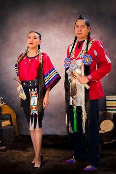 By: Feral Fawn Native Fashion, Native Style, Native American, Sari, Traditional, Contemporary, Saree, Native Americans, Saris