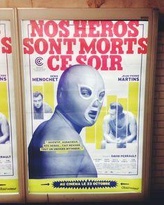 """Affiche: """"Les héros sont morts ce soir"""", France, 2013."""