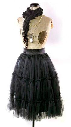 Pettislip Skirt   Victorian Trading Co.