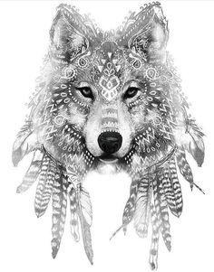 [ 45 idées de tatouage de loup 45 tattoo ideas of wolf tattoo ideas Hawaiianisches Tattoo, Tattoo Drawings, Body Art Tattoos, New Tattoos, Sleeve Tattoos, Mehndi Tattoo, Skull Tattoos, Husky Tattoo, Crane Tattoo