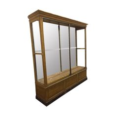 19th Century Antique Shop Display Cabinet