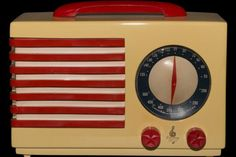 A Sydney dentist's 30-piece art deco radio collection sparks an offer from the Sheik of Qatar. Among the collection's pieces is this Emerson Patriot AD16. Photo: Peter Sheridan