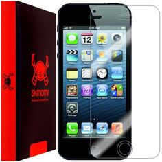 Skinomi Ultra Clear Shield Screen Protector Film Cover Guard for Apple iPhone 5 #Skinomi