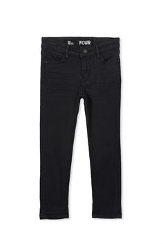 Ollie Slim Leg Jean<br /> Ollie Slim Leg Jean Boys slim leg jean, classic 5 pockets jean with zip fly, button closure and adjustable elastic.<br /><br />  •         Elastic waist can be adjusted with button tab inside the waistband<br /> •         Belt loops to keep your belt in place<br /> •         Traditional, five-pocket styling<br /> •         Zip and button closure<br /> •         Slim leg jean<br />...
