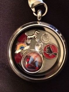 Wizard Of Oz Memory Living Locket Somewhere Over The Rainbow with chain