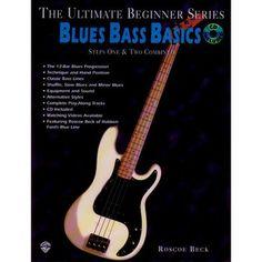 Blues Bass Basics: Step 1+2 Book/CD/DVD at Gear4music.com