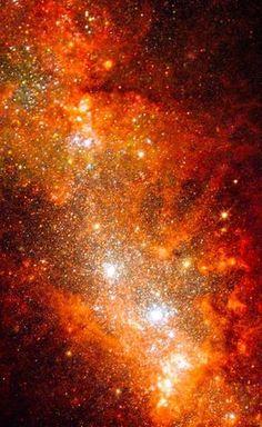 NGC 1569 Hubble Palette Credit: NASA/Hubble, Color/Effects thedemon-hauntedworld