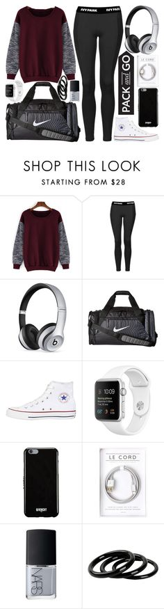 """""""Untitled #9"""" by in-the-night-sky ❤ liked on Polyvore featuring Topshop, Beats by Dr. Dre, NIKE, Converse, Givenchy, NARS Cosmetics, Furla, tokyo and Packandgo"""