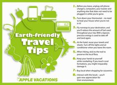 8 tips to help the environment while you #travel from @katderf