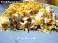 Comfort Food Bom Petisco - Atum com natas
