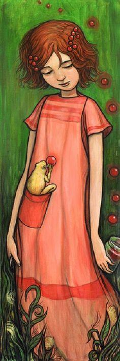 Pocket Frog by Kelly Vivanco