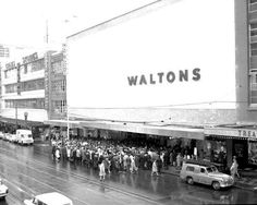 OPENING OF WALTONS IN 1964 TO 1985