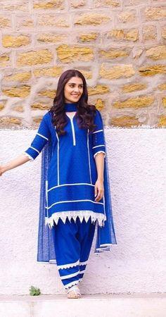 Pakistani Dress Design, Pakistani Outfits, Girls Lace Dress, Ayeza Khan, Kurti Designs Party Wear, Stylish Girl Images, Embroidery Dress, Girls Image, Stylish Dresses