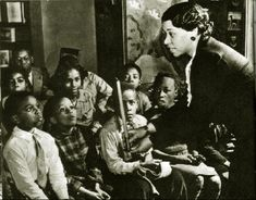 Vintage Librarian: Augusta Baker, renowned for her contributions to children's literature. New York City Library. Circa 1937-74. Photo Credit: Educating South Carolina