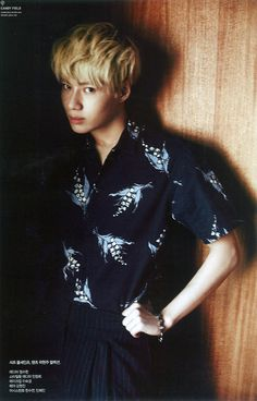 160216 Taemin - Singles Magazine March Issue