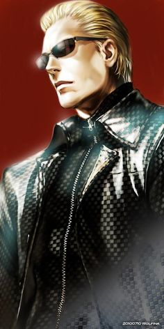 Albert Wesker. My favorite antagonist of any game