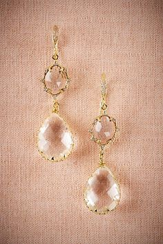 Imelda Drop Earrings by BHLDN || Perfect Wedding or Bridesmaid Earring || Follow @KWHBridal