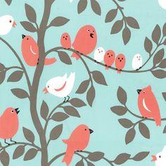 Sorbet tweetie Pie Nursery Sheets    -  Cradle, Mini Crib, Crib Size