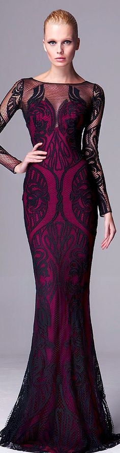 Zuhair Murad Pre-Fall 2014 evening gown by dina 6c9738ea19b1