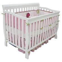 Kidiway Jessie Convertible Crib - White