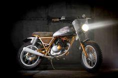 A different take - Suzuki GN 125 by Dream Wheels Heritage