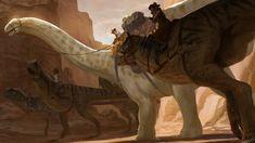 by kepperoni on DeviantArt Cool Dinosaurs, Jurassic World Dinosaurs, Jurassic Park World, My Fantasy World, Fantasy Art, Historia Natural, Spinosaurus, Dinosaur Art, Prehistoric Creatures