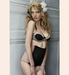 Privee High Waisted Brief by Les Jupons de Tess - designer lingerie at Fox & Rose