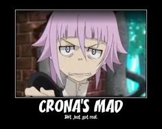 Crona's mad by Ammy442.deviantart.com on @deviantART