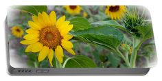 Sunflower Portable Battery Charger featuring the photograph Sunflower Art by…