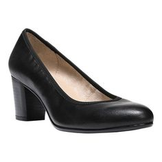 73ce5796e70 Women s Naturalizer Naomi Pump - Black Smooth Synthetic Heels