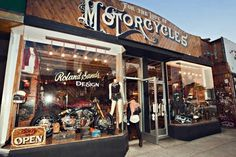 One of Los Angeles' top custom motorcycle shops (For The Love Of Motorcycles).