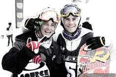 the two canadian teens. haha (Sebastian Toutant otherwise known as Seb Toots Mark McMorris) Mark Mcmorris, Pretty People, Beautiful People, Man Crush Everyday, Sport Inspiration, Surf, Snow Skiing, Perfect Image, Attractive People