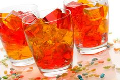 Halloween Jello Shots from Punchbowl FOR ADULTS ONLY!
