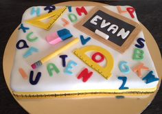#birthday #cake #school #maternelle Bouquets, Sugar, Cookies, School, Birthday, Desserts, Food, Sugar Paste, Candy