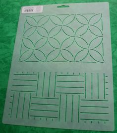 Your place to buy and sell all things handmade Quilting Stencils, Hand Quilting, Machine Quilting, Quilting Projects, Hand Embroidery Designs, Embroidery Stitches, Embroidery Files, Applique Patterns, Quilt Patterns