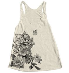 Hey, I found this really awesome Etsy listing at https://www.etsy.com/listing/187254090/flower-print-tank-top-american-apparel