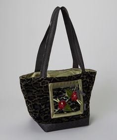 green stripe plumeria mini tote by goody goody on today see more barb ...
