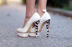 Gorgeous #AnimalPrint Heel #Shoes