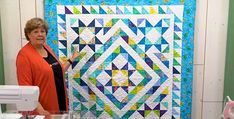 Start with a Layer Cake for This Beautiful Quilt (Quilting Digest) Layer Cake Quilt Patterns, Layer Cake Quilts, Star Quilt Patterns, Star Quilts, Amish Quilts, Layer Cakes, Missouri Star Quilt Pattern, Missouri Star Quilt Tutorials, Quilting Tips