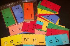 Word work idea to practice alphabet sequence