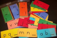 Alphabet Cards...use in a center