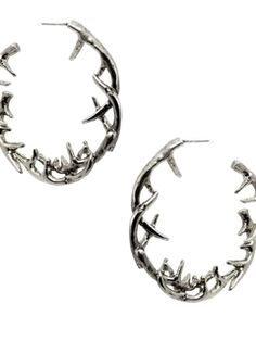 Antler Hoop Earrings