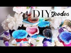 DIY Room Decor Crystals w/ Polymer Clay   ANNEORSHINE - YouTube