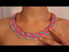 Shoelace necklace. It'd be nice to figure out how to tie off the ends without needing to sew them together.