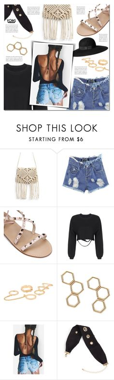 """Yoins"" by pankh ❤ liked on Polyvore featuring H&M"