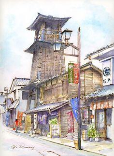 Bell Tower (Kawagoe) 時の鐘 (川越)