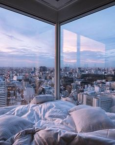 Visit Japan: Talk about a room with a view! The 'The Prince Gallery Tokyo Kio.- Visit Japan: Talk about a room with a view! The 'The Prince Gallery Tokyo Kioicho' hotel off… City Aesthetic, Aesthetic Room Decor, Travel Aesthetic, Blue Aesthetic, Apartment View, Dream Apartment, Nyc Apartment Luxury, Japan Apartment, City Apartments